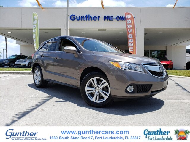 Pre-Owned 2013 Acura RDX Base w/Technology Package