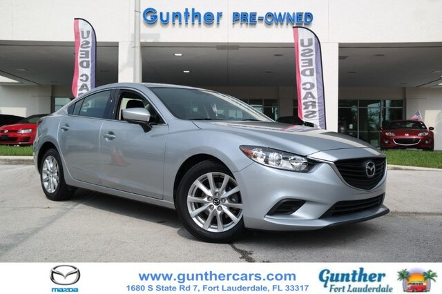 2017 Mazda6 Sport >> Pre Owned 2017 Mazda6 Sport Fwd Sedan