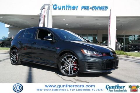 Certified Pre-Owned 2017 Volkswagen Golf GTI Sport 4-Door