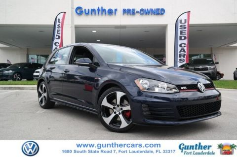 Certified Pre-Owned 2017 Volkswagen Golf GTI S 4-Door