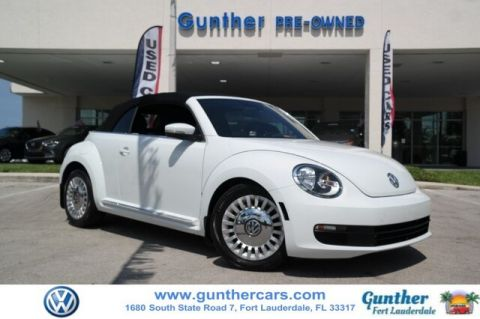 Certified Pre-Owned 2015 Volkswagen Beetle 1.8T
