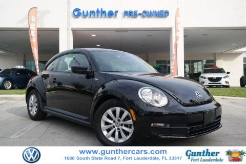 Certified Pre-Owned 2016 Volkswagen Beetle Coupe 1.8T Classic