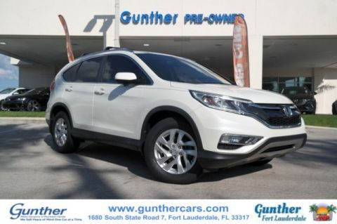 Pre-Owned 2015 Honda CR-V EX-L w/Navigation