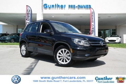 Certified Pre-Owned 2017 Volkswagen Tiguan 2.0T Limited